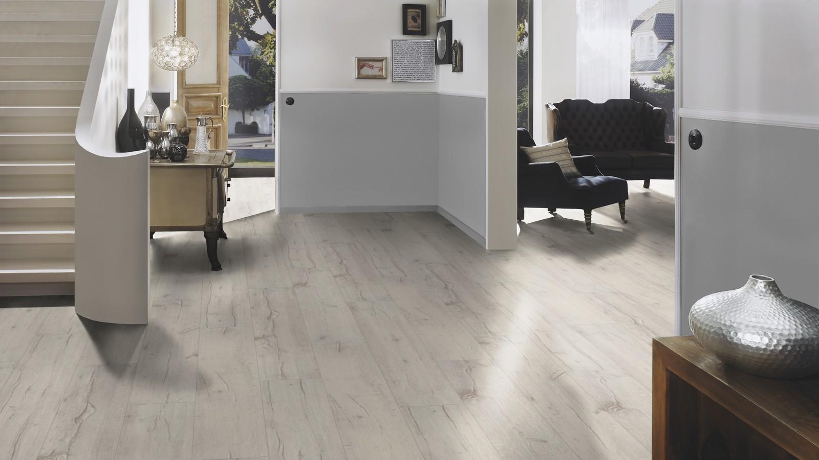 grau weiss laminat raum und m beldesign inspiration. Black Bedroom Furniture Sets. Home Design Ideas