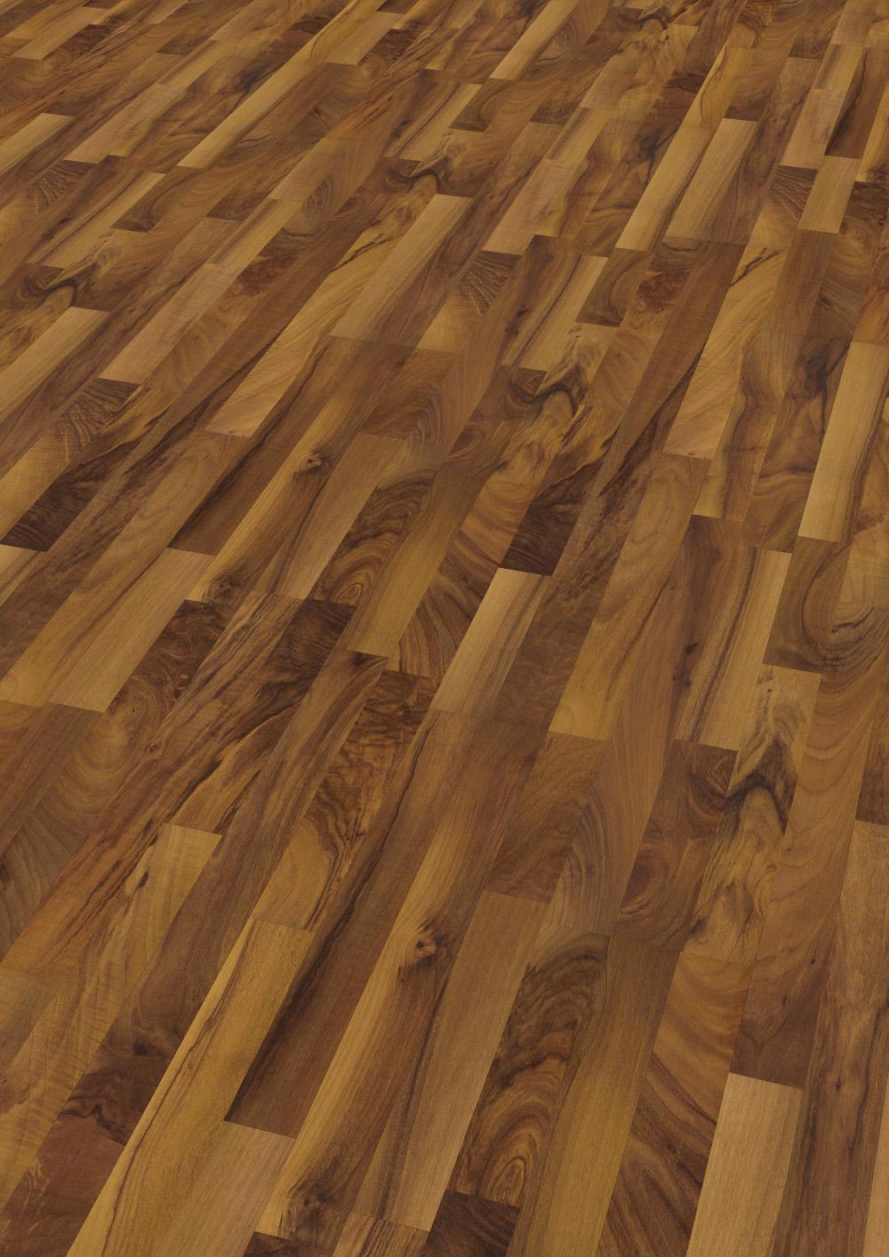wineo laminat natural walnut mit trittschall 3 stab wineo 300. Black Bedroom Furniture Sets. Home Design Ideas
