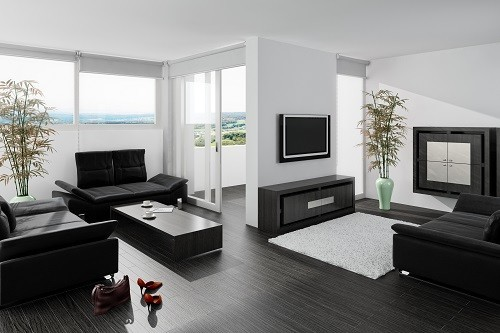 laminat grau schwarz haus deko ideen. Black Bedroom Furniture Sets. Home Design Ideas