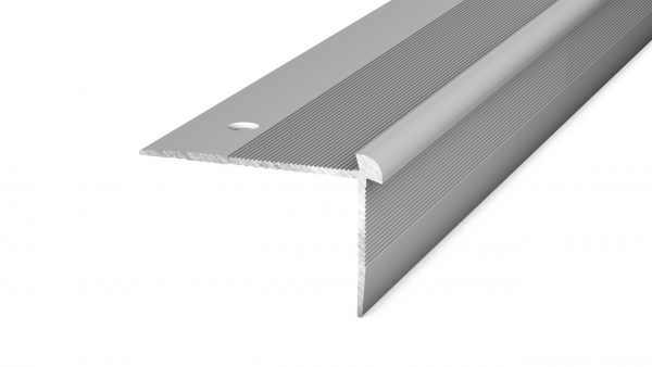 Treppenkantenprofil 43,5 mm Silber 250 cm 6-6,5 mm