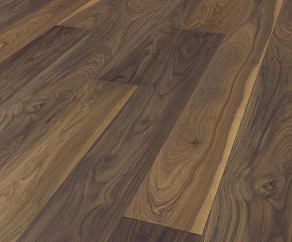 """Terhürne Avatara Floor """"Nußbaum dunkelbraun"""" 1 Stab - B11"""