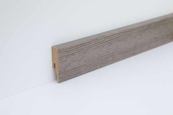 """Wineo Fußleiste """"Ascona Pine Grey"""" 16/60 mm"""