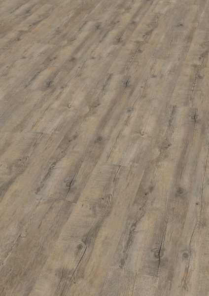 "Vinyl 9 mm Klick ""Embrace Oak Grey"" inkl. Trittschalldämmung - Wineo 400 wood kaufen - Laminatparadies"