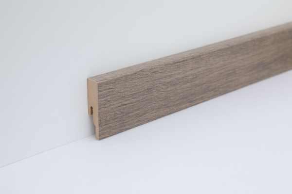 """Wineo Fußleiste """"Embrace Oak Grey"""" 16/60 mm"""