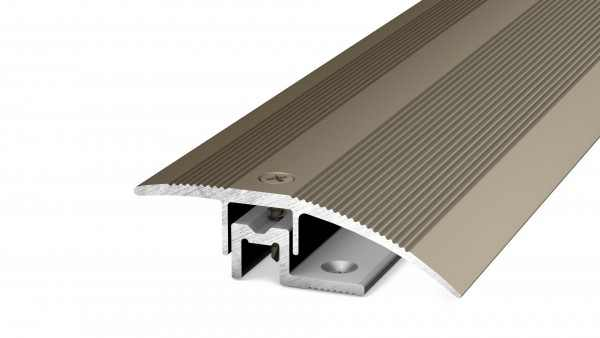 Anpassungsprofil 44 mm Edelstahl 270 cm 6-13 mm