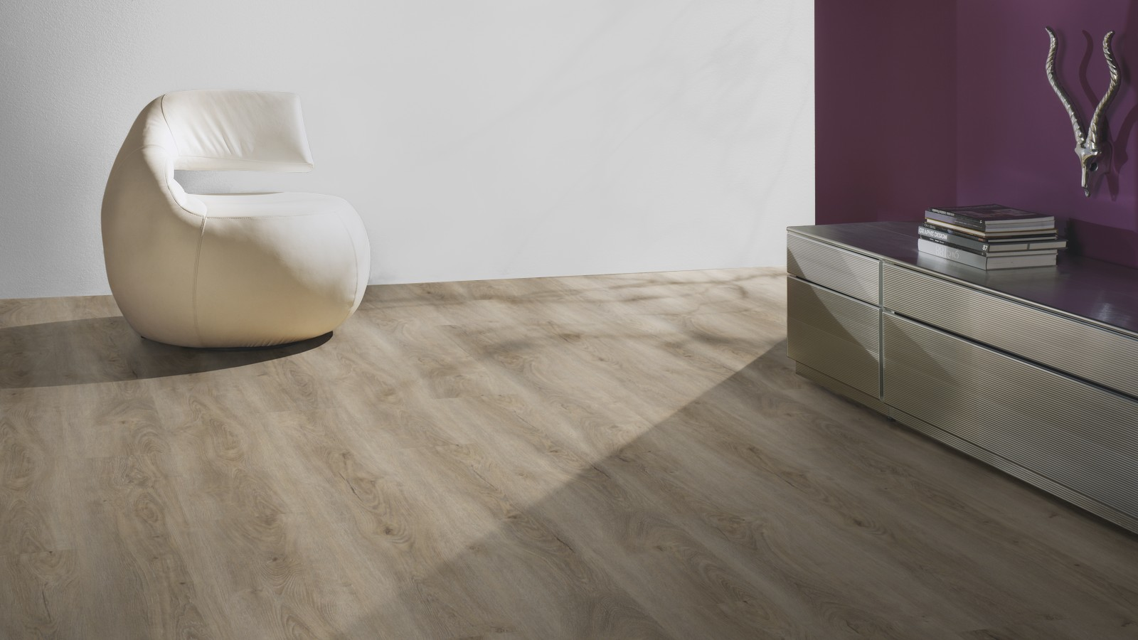 terh rne vinyl 9 mm klick eiche minsk graubeige inkl trittschall g08 bright choice. Black Bedroom Furniture Sets. Home Design Ideas