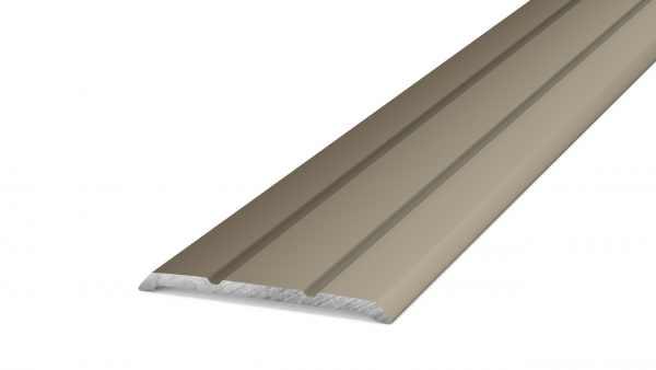 Übergangsprofil 25 mm Edelstahl 100 cm selbstklebend