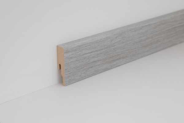 """Wineo Fußleiste """"Eternity Oak Grey"""" 16/60 mm"""
