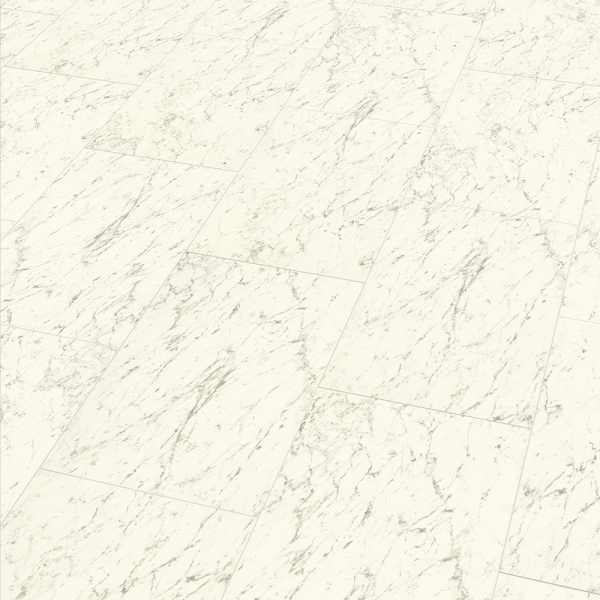 "Elesgo Laminat ""Hochglanz Carrara weiß"" - Superglanz floor Maxi V5"