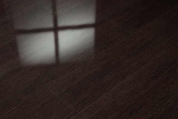 """Elesgo Laminat """"Hochglanz Wenge"""" - Superglanz floor Diele"""