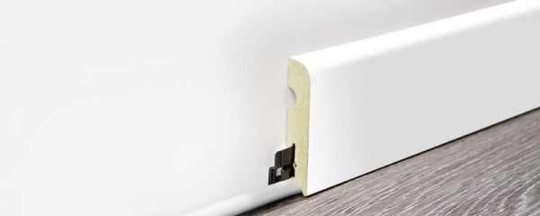 "Wineo Fußleiste ""Lumber White"" 15/70 mm kaufen - Laminatparadies"