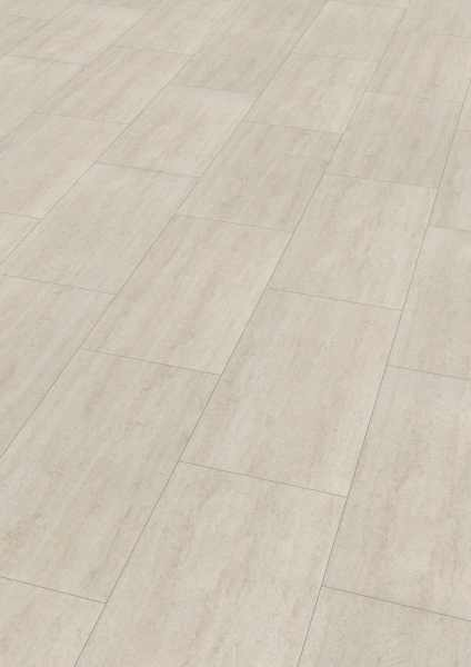 "Wineo Vinyl 5 mm Klick ""Polar Travertine"" - WINEO 600 stone - 4 kaufen - Laminatparadies"
