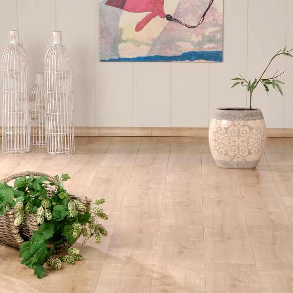 "Elesgo Laminat ""Eiche Nordic"" - Wellness floor V4"