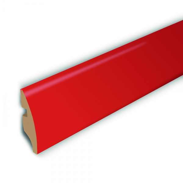 "Elesgo Rundsockelleiste ""Color Elesgo Rot"" 16/58 mm - 1 kaufen - Laminatparadies"