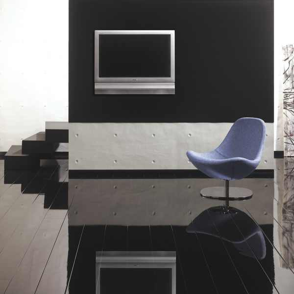 "Laminat ""Hochglanz Color Black"" - Glamour Life Rundkante"