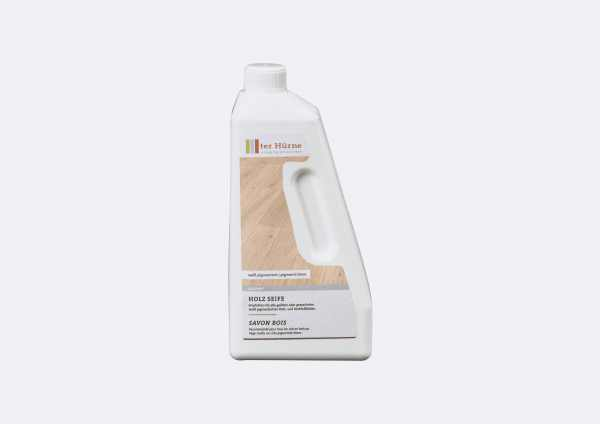 Holz Seife weiß