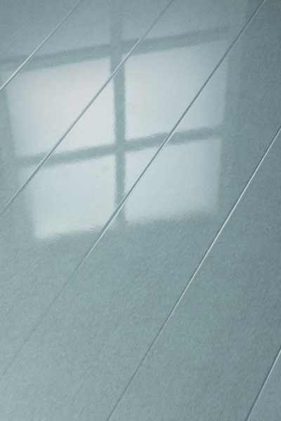 "Elesgo Laminat ""Hochglanz Metallic grau"" - Superglanz floor Diele"