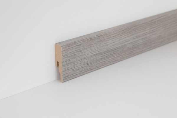 """Wineo Fußleiste """"Memory Oak Silver"""" 16/60 mm"""
