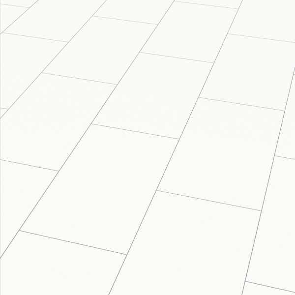 "Elesgo Laminat ""Hochglanz Color white Arktis"" - Superglanz floor Maxi V5"