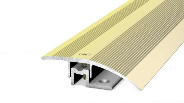 Anpassungsprofil 44 mm Messing 270 cm 6-13 mm
