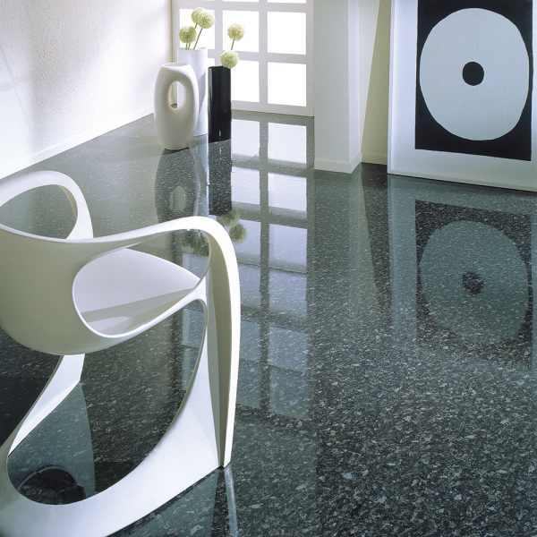 "Elesgo Laminat ""Hochglanz Black Pearl"" - Superglanz floor Glattkante"
